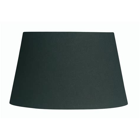 6 inch drum l shade black cotton drum l shade 6 inch s901 6bl oaks lighting