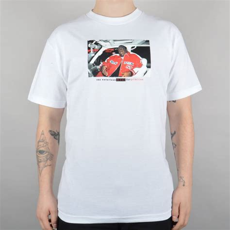T Shirt Primitive Skateboard primitive apparel biggie cruisin skate t shirt white skate clothing from skate store uk