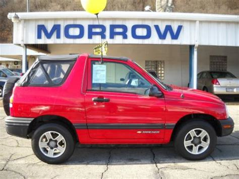 used 2003 chevrolet tracker 4wd convertible for sale
