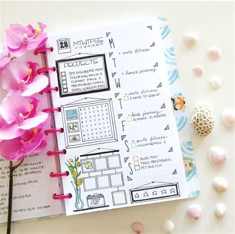 design journal inspiration bullet journal weekly spread ideas and inspiration