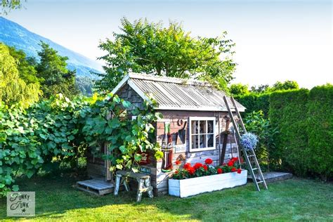 greenhouse  rustic garden shed part   reveal