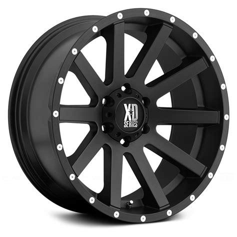 xd series wheels xd series 174 heist wheels satin black with milled flange rims