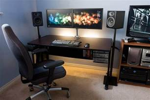 two monitor desk 18 really amazing computer stations 171 twistedsifter