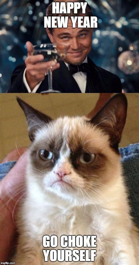 Happy New Year Cat Meme - happy new year imgflip