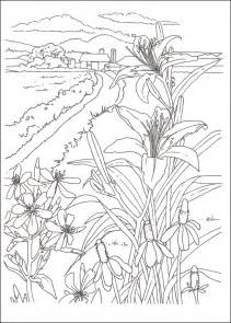 Country Scenes Coloring Book 030126 Details  Rainbow Resource sketch template