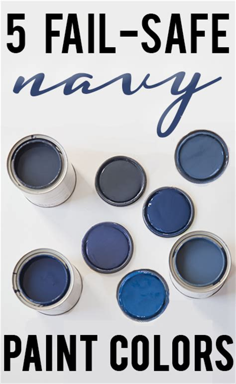 best blue colors best navy blue paint colors