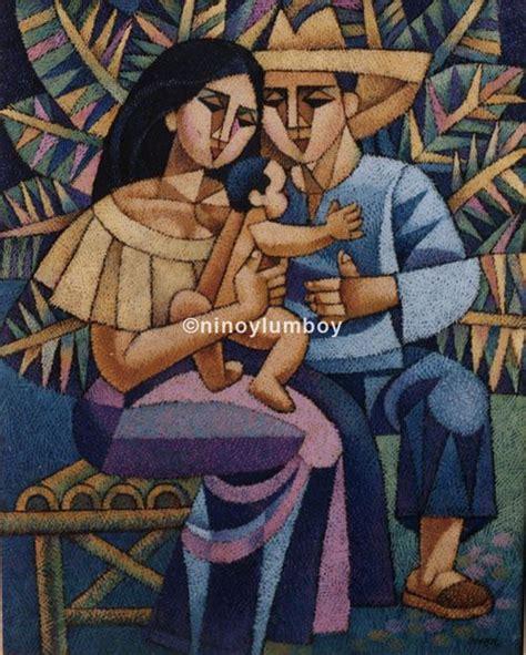 biography of filipino artist family ties by ninoy lumboy a filipino artist