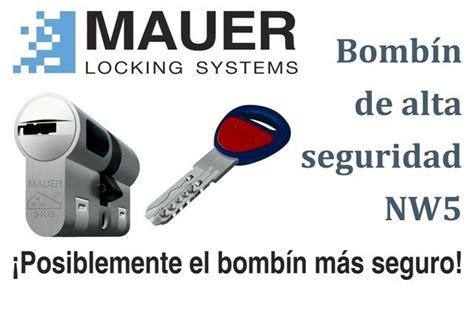bombines y seguridad bombines y seguridad bombines de seguridad mauer nw5 y mul t lock mt5