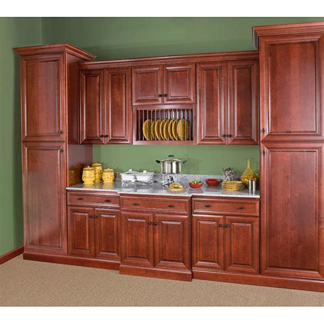 How Wide Are Kitchen Cabinets Cherry Stain Chocolate Glaze 12 Inch Wide Base Cabinet By Heritage Classic Cabinets