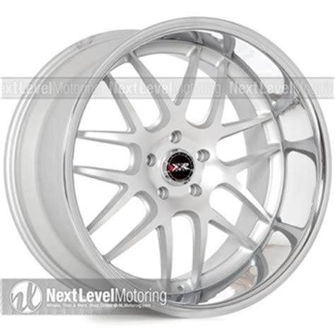 xxr wheels: 526 20x11 machined/flat silver rims