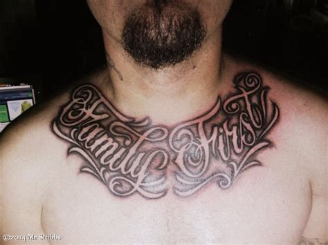 first tattoos family tattoos lettering www pixshark images