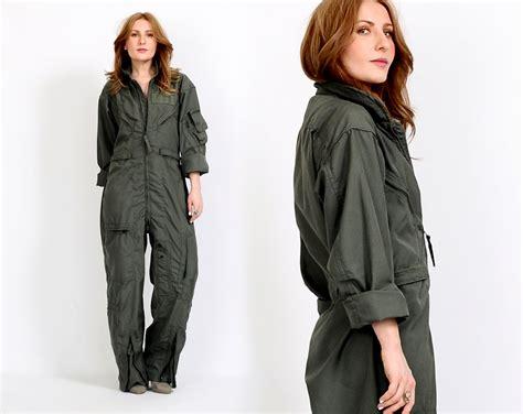 Jumpsuit Armi Army vintage army jumpsuit flight suit coveralls slouchy