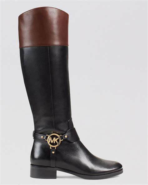 michael michael kors harness boots fulton in black