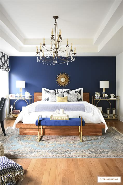 gorgeous boho glam bedroom makeover