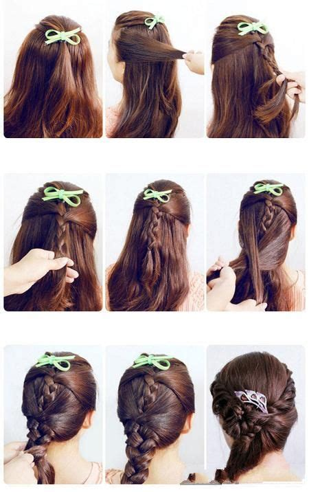 easy korean hairstyles for school fashion beauty diy beauty and hair on pinterest