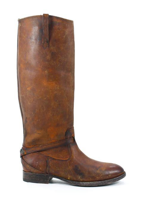 cognac leather boots frye lindsay plate leather boots cognac shoes 7 5