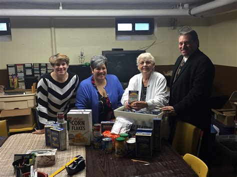 Sacred Food Pantry by Glendale Parishioners Deliver Bounty Of Donations To
