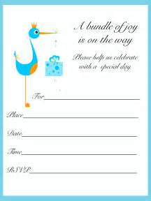 printable baby shower invitations template best template collection