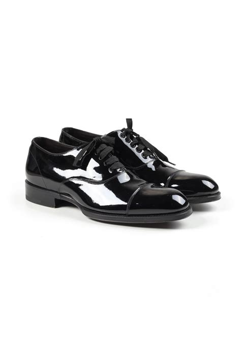 tom ford gianni evening lace up tuxedo dress shoes size 7t 8t u s costume limit 233
