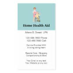 home care license licensed practical business cards templates zazzle