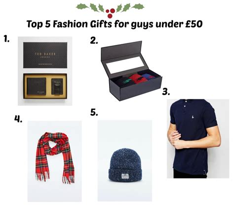 top 5 christmas fashion gifts for men under 163 50