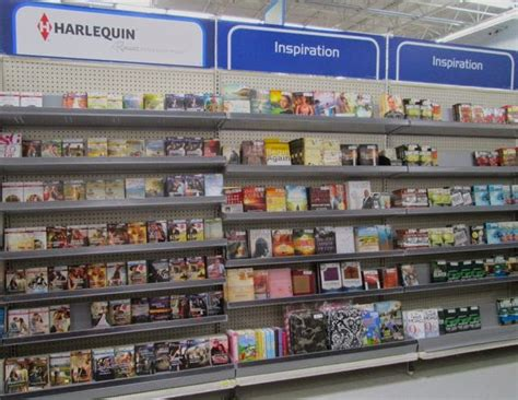 book sections love inspired authors walmart book department shrinkage