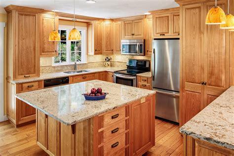 red birch kitchen cabinets elegant custom kitchen cabinetry stauffer woodworking