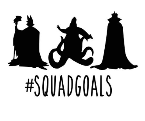 Disney In Squad disney svg disneyland svg disney princess svg disney squad