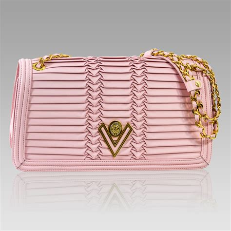 Valentino Pleated Knot Bag by Valentino Orlandi Shoulder Bag Pleated Draped Leather