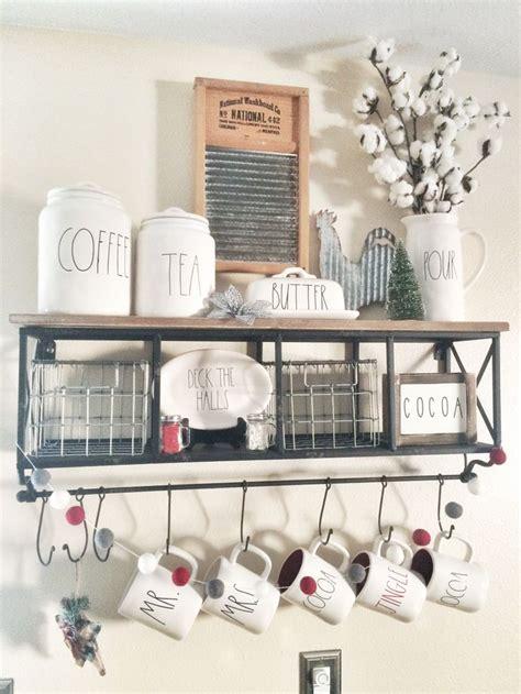 kitchen display ideas rustic farmhouse rae dunn bar with hobby lobby