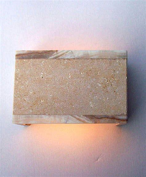 applique pietra pietra di vicenza lada applique da muro onice