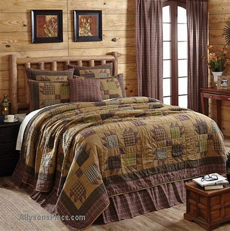 cabin bedding sets cheap canavar ridge bedding quilted w coupon discount cabin