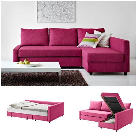 Small And Stylish Sleeper Sofas Pink Sleeper Sofa