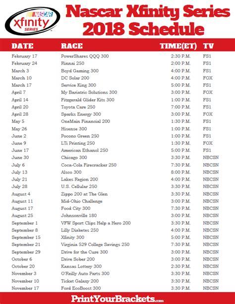 printable xfinity channel guide nascar printable tv schedule 2016 calendar template 2016