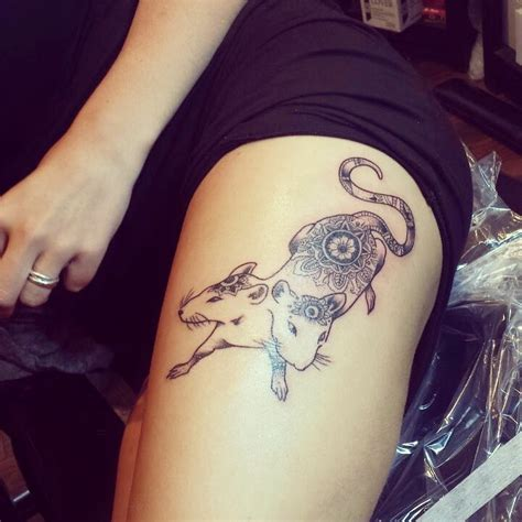 simple rat tattoo rat tattoos designs ideas and meaning tattoos for you