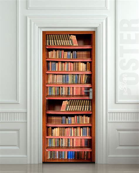 Book Door by 10 Cool Wall Door Stickers Murals Decoholic