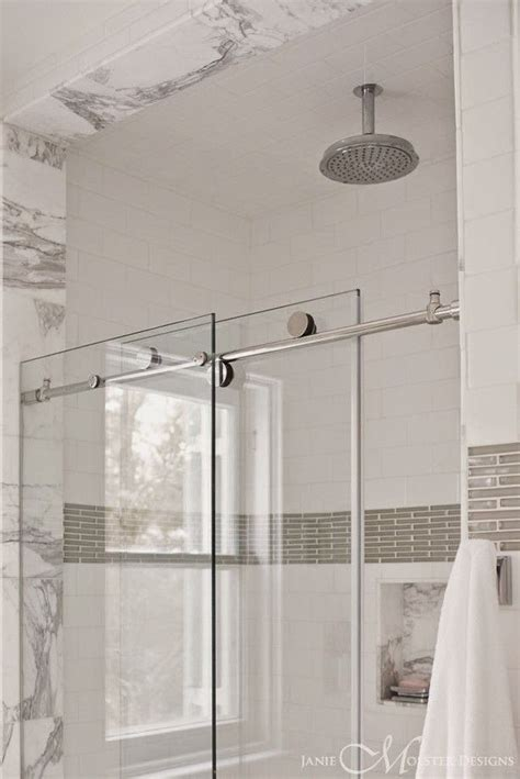 Shower Door Options Pivot Vs Sliding Shower Doors The Small And Chic Home Bathroom Ideas Pinterest Shower
