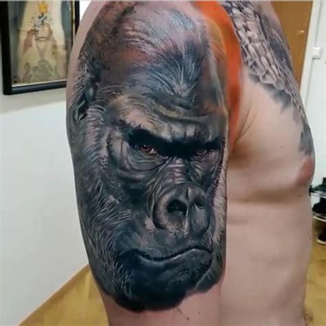 gorilla tattoo on instagram