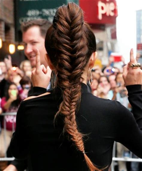 slick back weave hair stylea a new way to fishtail 10 hairstyles that can stand up to