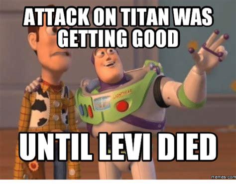 Titan Meme - attack on titan levi meme www pixshark com images