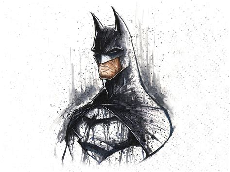 Sketches 4k Wallpaper by Batman Minimalistic Dc Comics Superheroes Sketches