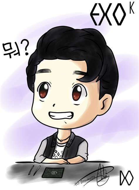 anime do kyungsoo exo exo d o anime version www pixshark images