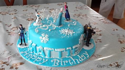 film frozen cake frozen cake inspired by the hit disney movie youtube