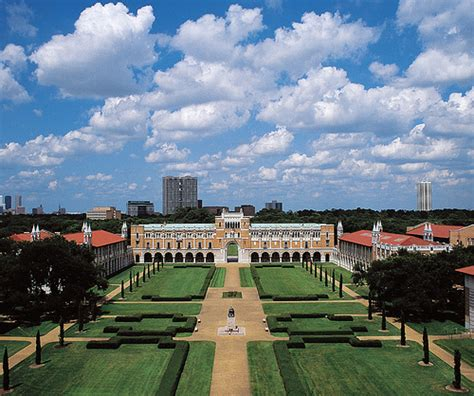 Rice Houston Mba the top 10 best landscaped colleges south florida