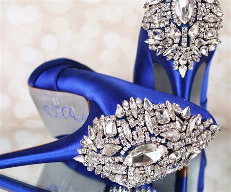 Blue Wedding Heels by Royal Blue Wedding Heels