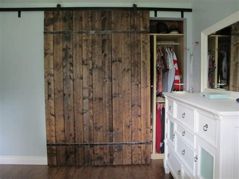 Barn Door For Closet Diy Barn Door