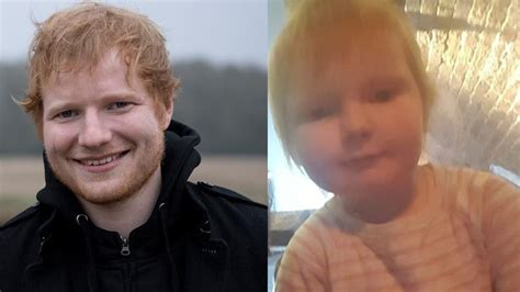 ed sheeran mom ed sheeran s baby look alike goes viral mom of two year