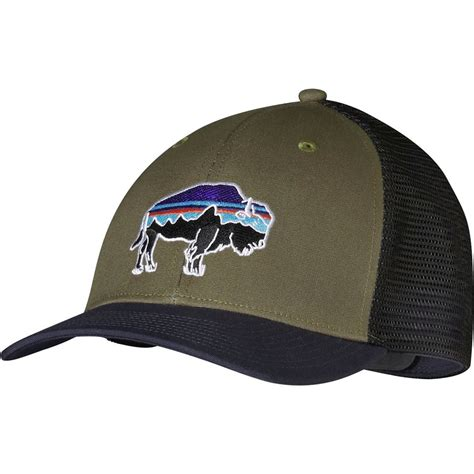 Trucker Hat Or Patagonia patagonia fitz roy bison trucker hat backcountry