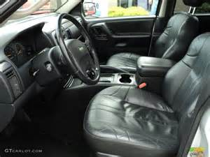 2002 jeep grand laredo 4x4 interior photo