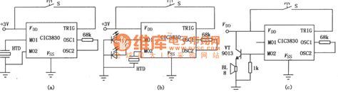 integrated circuit series cic38 series integrated circuit audio circuit